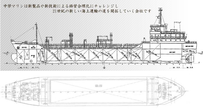 岡山の船会社・海運業。中栄マリン株式会社。